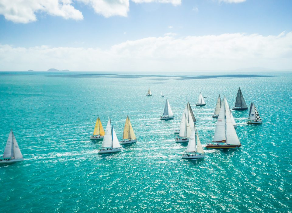 Airlie Beach Race Week, sailing Whitsundays