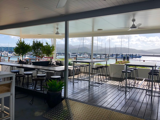 The Garden Bar Bistro at Abell Point Marina