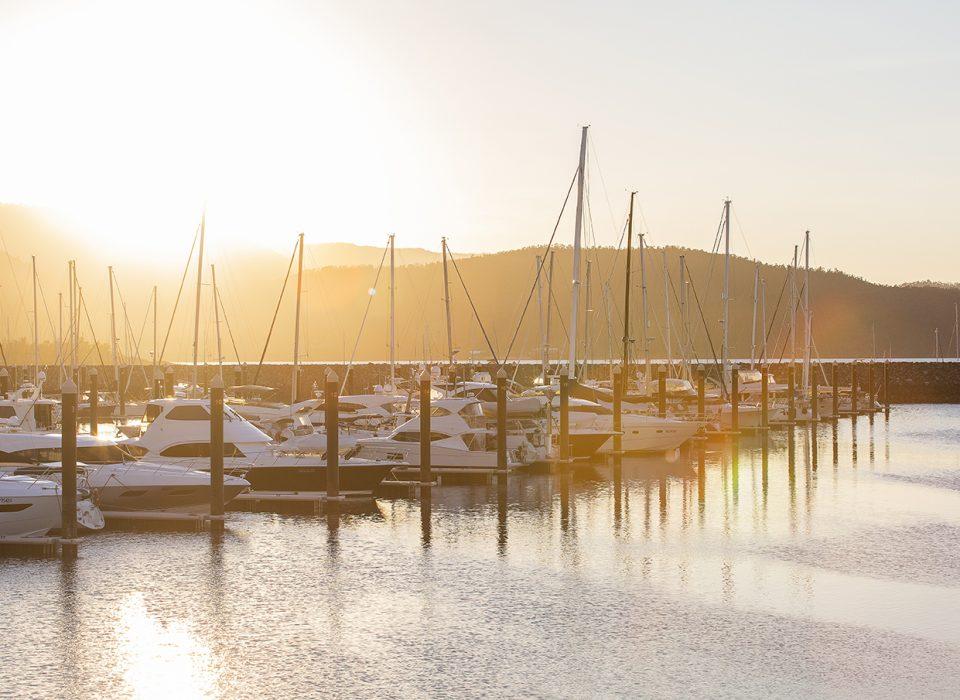 Abell Point Marina Sunset
